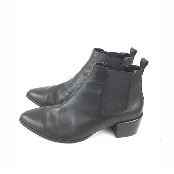 cf5e10f573b Steve Madden Vanity chelsea boots black womens 8.5.  M 5b6bc1236197459e9ce90999